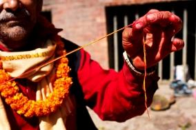 Dashain Festival at Dachhin kalimandir