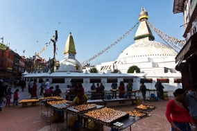 Dashain Festival in Kathmandu