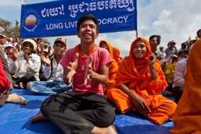 Demonstrations in Phnom Penh
