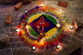 Diwali Festival Phokara Nepal