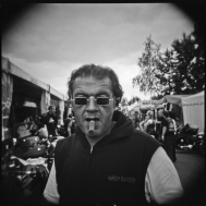 Holga Portraits at European Bikeweek