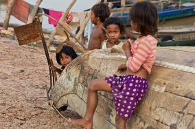 Kids in Cambodia