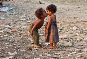 Kids in Cambodia;