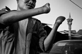 Mine Victims in Cambodia
