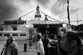 The Bodnath Stupa and it's People